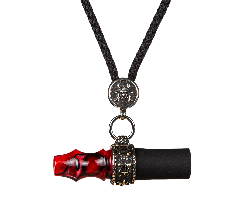 <p>Mouth Tip Samurai Cord / Red</p>