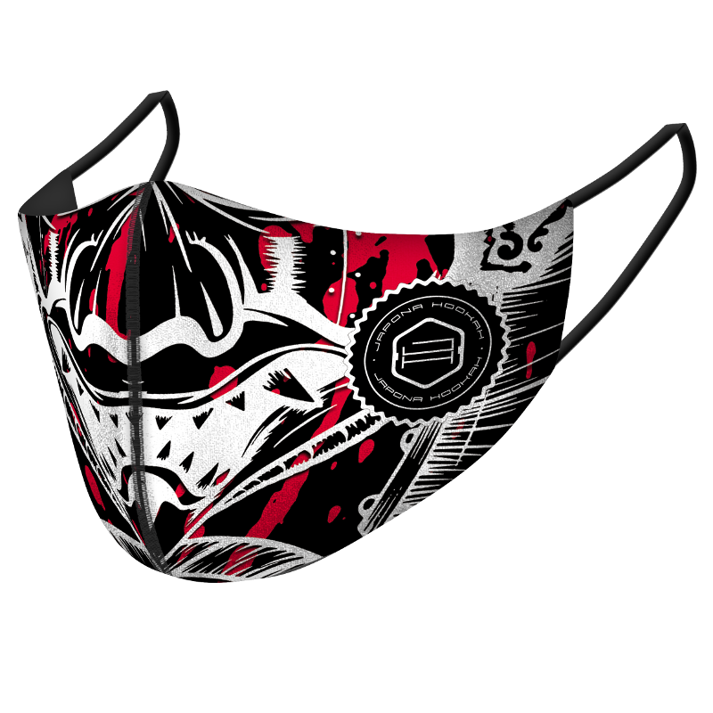 <p>Japona Mask<br /> Red Black Samurai</p>